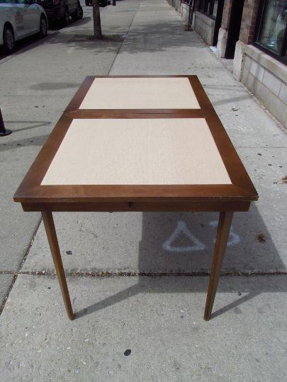 Vintage 1950s Walter Of Wabash Expandable Danish Table Mid Century Modern  MCM