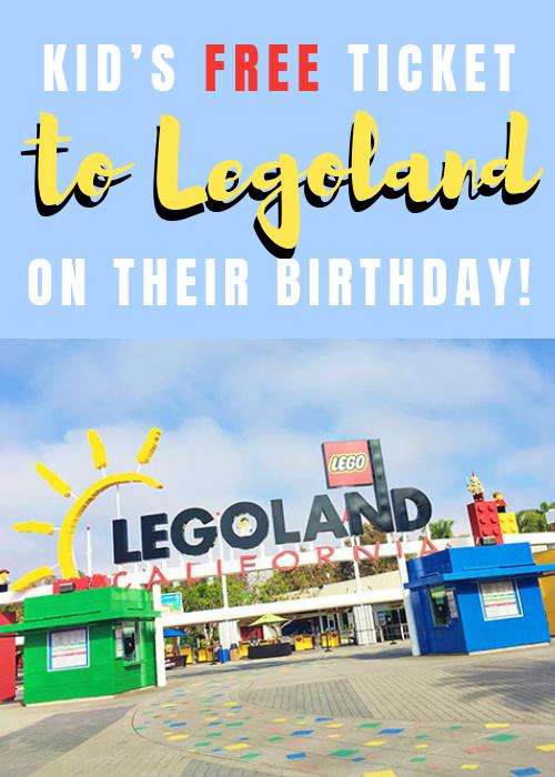 Free Ticket To Legoland On Your Birthday For Children Legoland