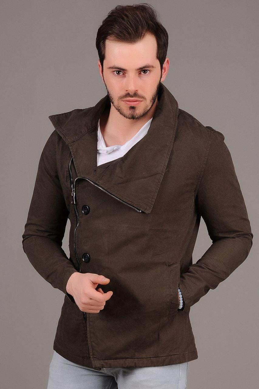 Yan Fermuarli Haki Ceket Giyim Indirim Kampanya Bayan Erkek Bluz Gomlek Trenckot Hirka Etek Yelek Mont Kase Kaban Elbise A Moda Trenckot Giyim