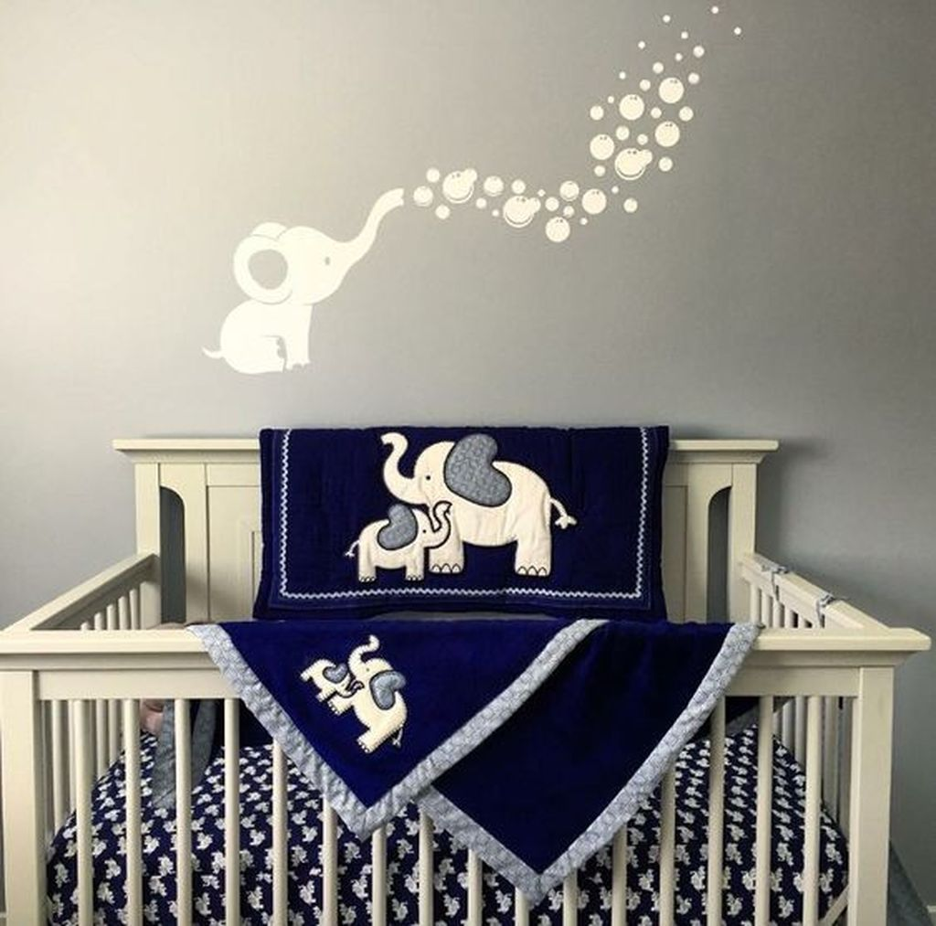 40 Cute Baby Room Themes Design Ideas Baby Room Themes Elephant