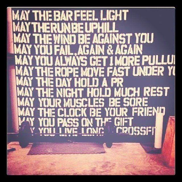 crossfit quotes workout