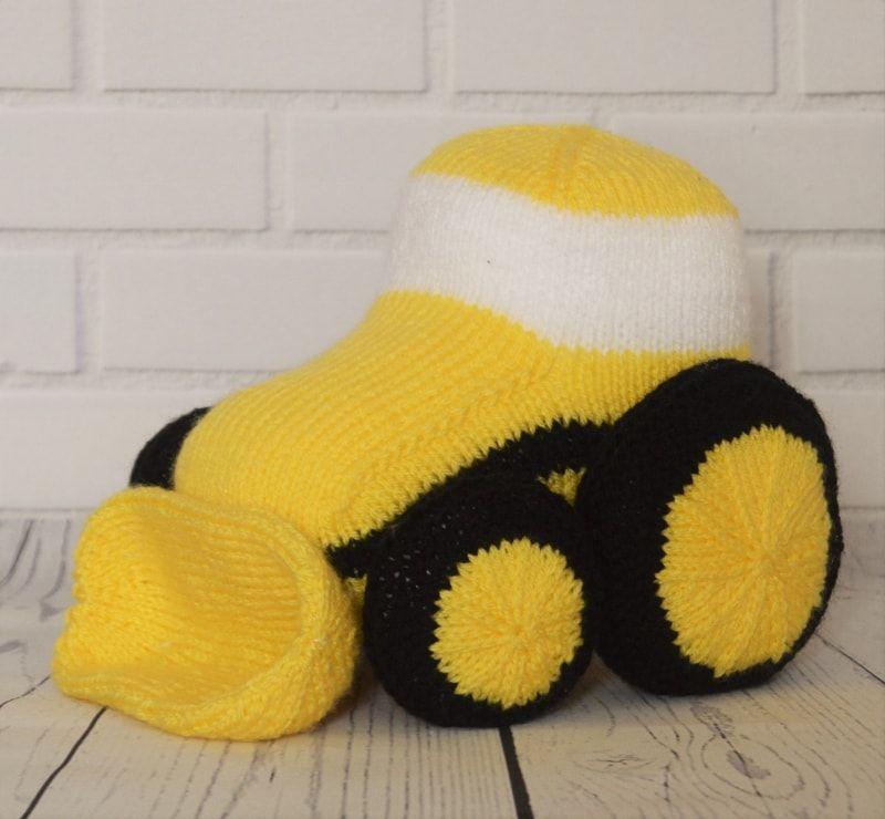 Car, Aeroplane and Digger Knitting Pattern | Knitting ...