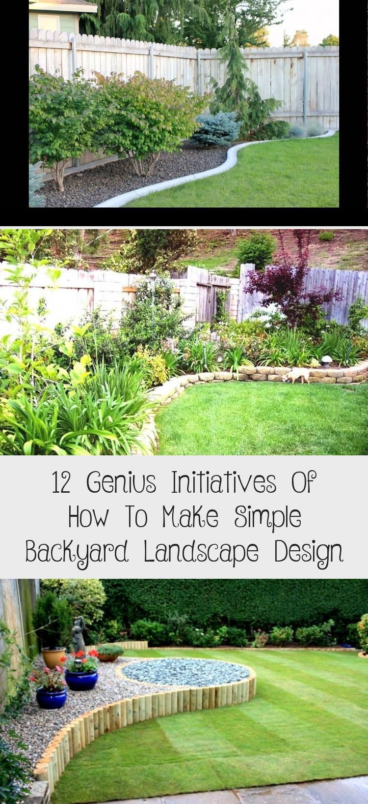 13 Awesome Tricks Of How To Upgrade Backyard Landscaping Pictures Small Backyard Gardens Small Yard Landscaping Backyard Landscaping