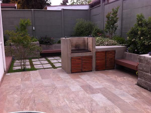 Jardines con barbacoas fotos amazing piscina y terraza for Barbacoas para jardin