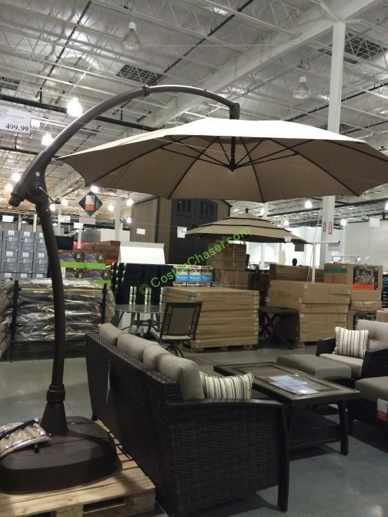 proshade 11 parasol cantilever umbrella costco - Costco Patio Umbrella