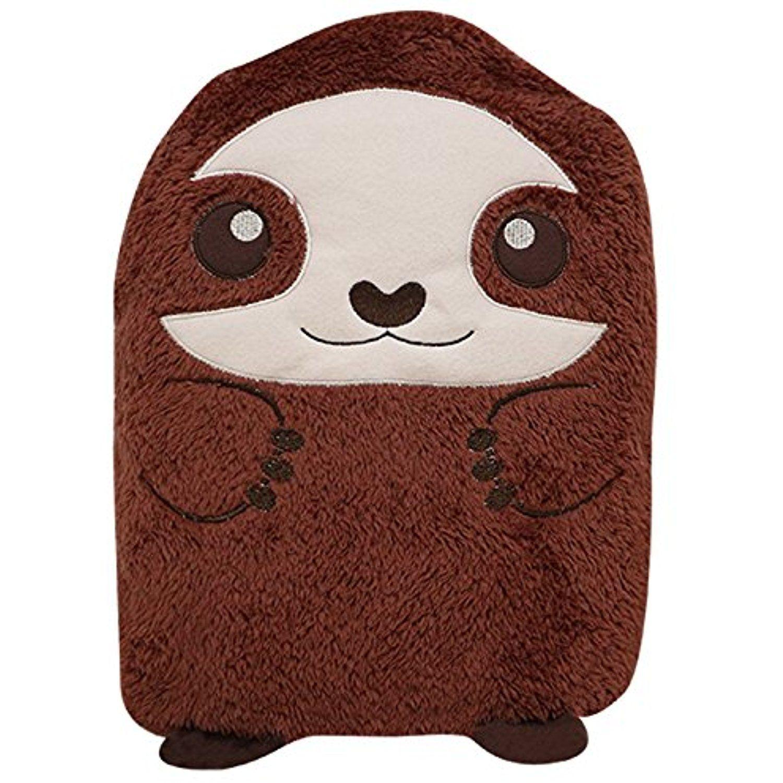 In fluffy cuddly sloth animal cartoon plush doll pillow cushion
