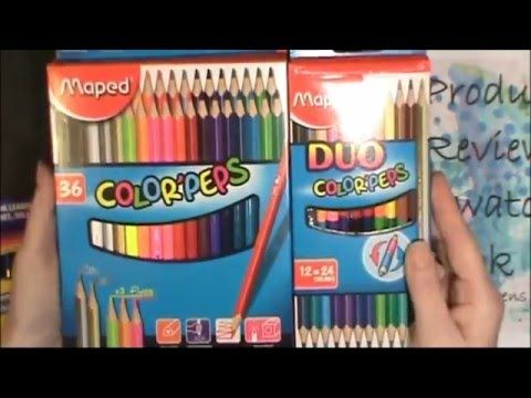 How Do Maped Color Peps Colored Pencils Compare To Other Brands