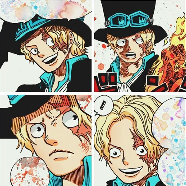 Instagram Photo By One Piece Aug 2 2015 At 12 26pm Utc One Piece Manga Sabo One Piece Anime Drawing Styles