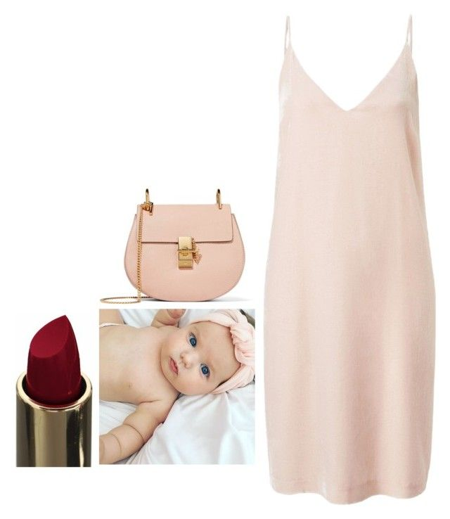 """""""Untitled #5557"""" by adi-pollak ❤ liked on Polyvore featuring Witchery and Chloé"""