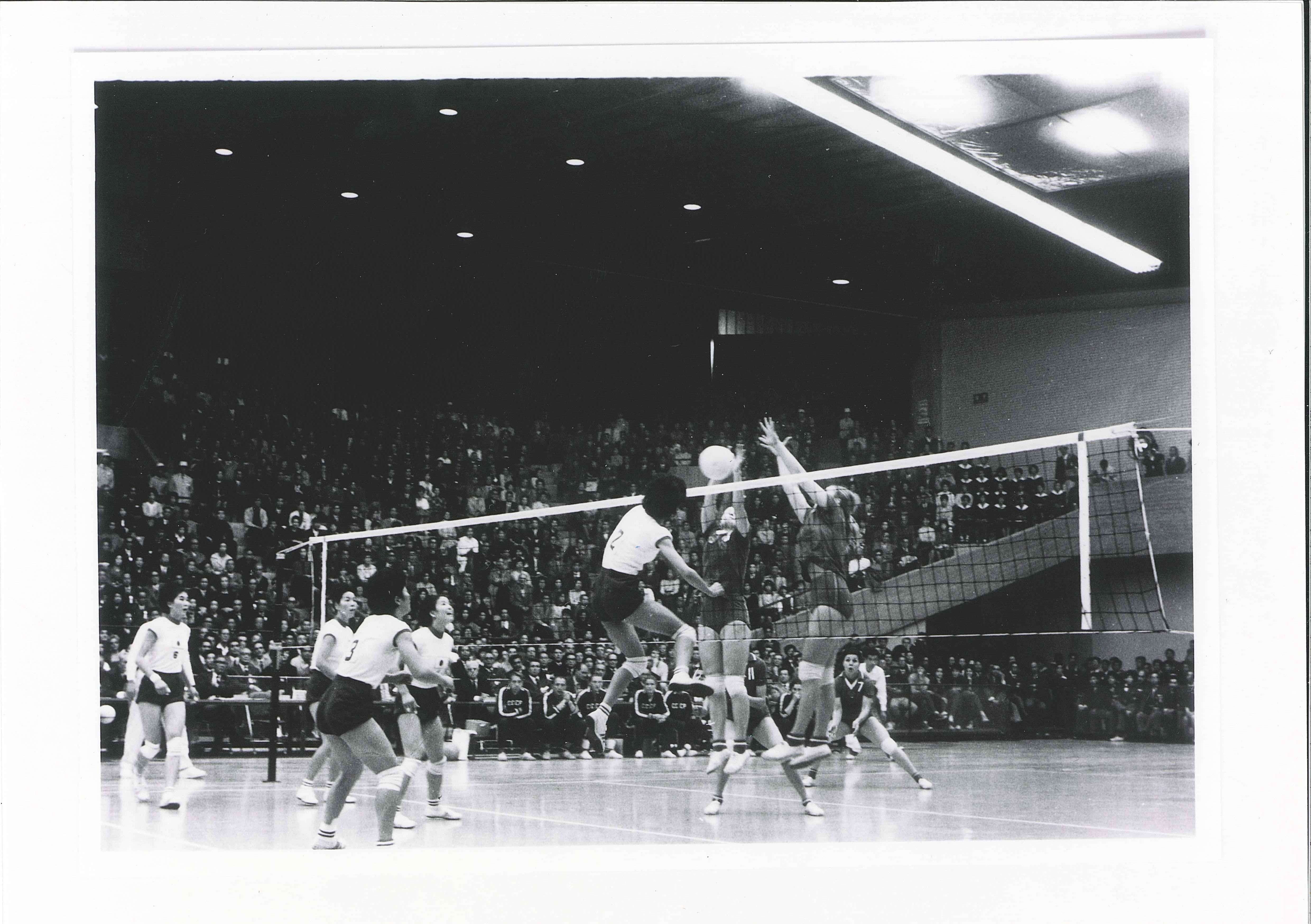 Inagural Volleyball Games At 1964 Olympics In Tokyo Japan Volleyball History 1964 Olympics Olympic Games