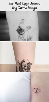 Photo of The Most Loyal Animal, Dog Tattoo Design  The most loyal animal, dog tattoo desi…