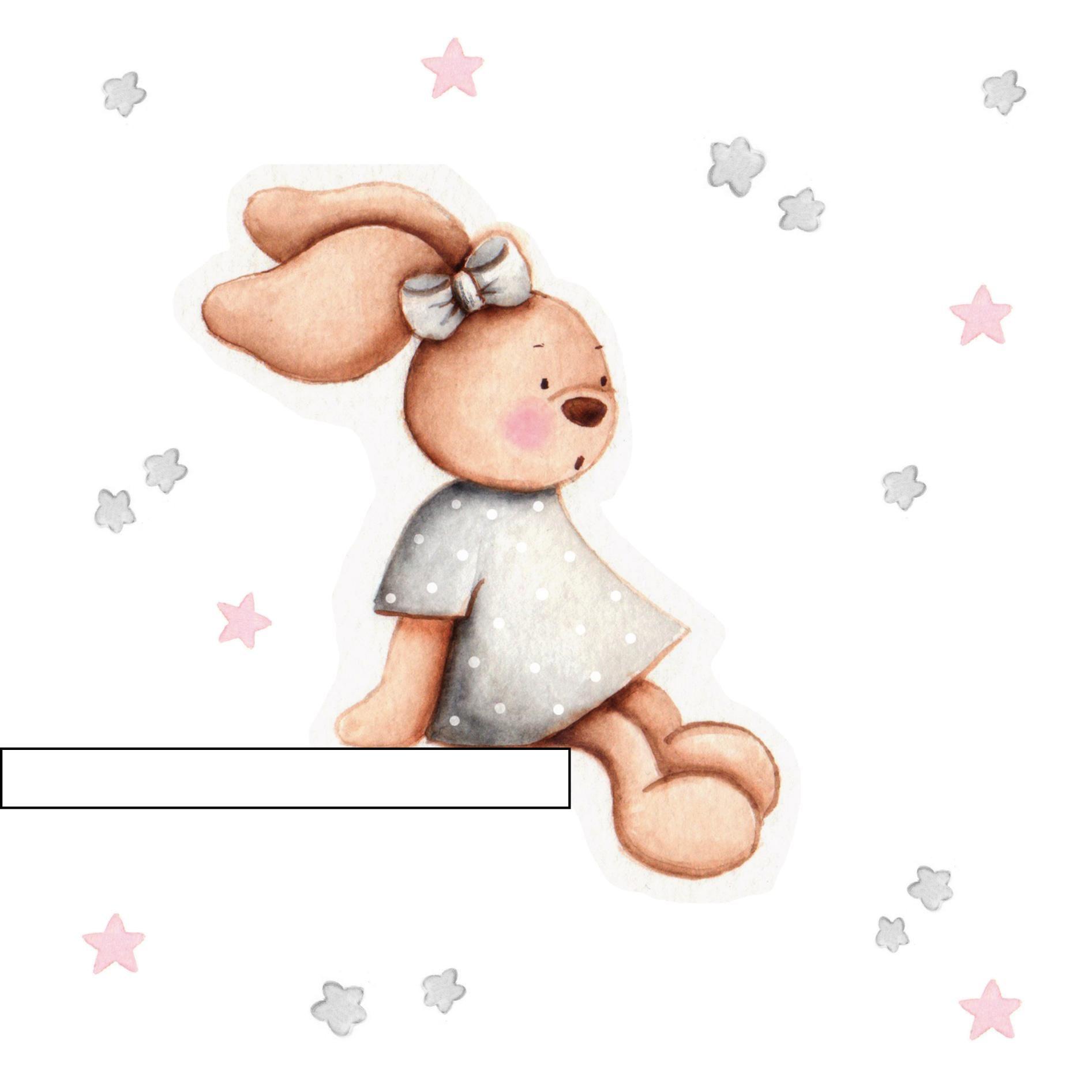 Vinilo Infantil Conejita Sentada En Estanteria En Gris Vinilo Infantil Scrapbook De Bebe Cosas Lindas Para Dibujar