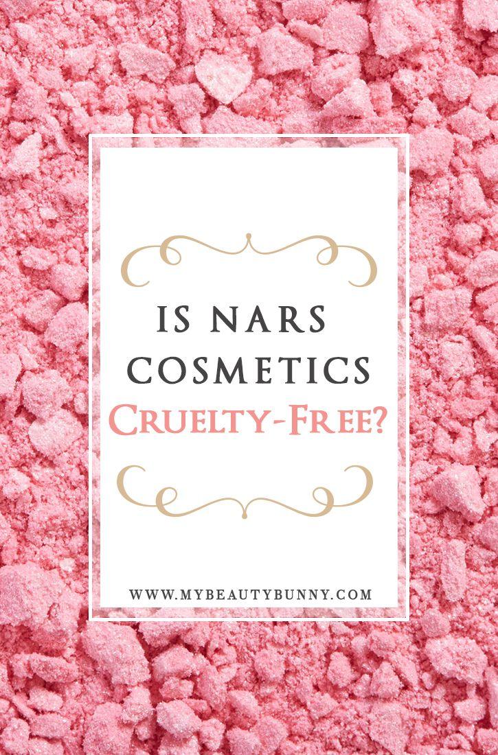Is NARS Cruelty Free Cruelty free makeup, Makeup blog