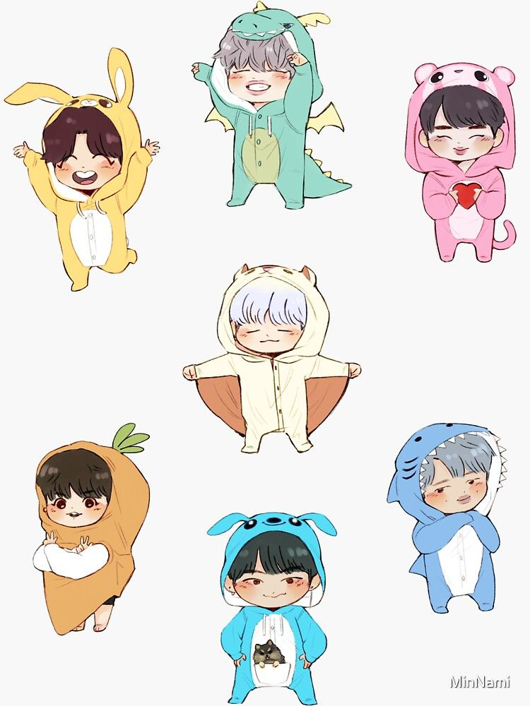 Photo of Pegatina '~ BTS 4th Muster Stickers! ~' de MinNami