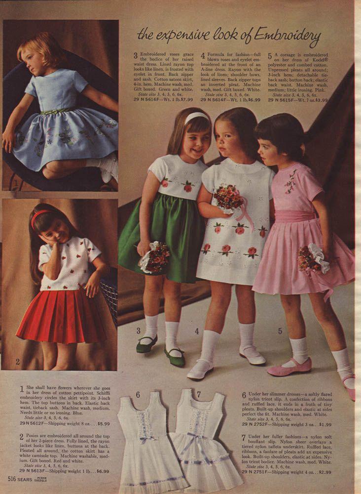 Sears 1964 Page0516 Vintage Kids Clothes Vintage Girls