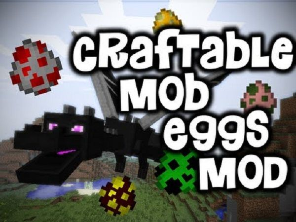New Post Craftable Mobeggs Mod 1 7 10 Has Been Published On