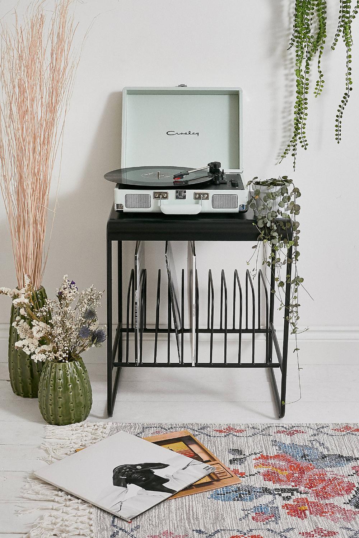 Crosley Uo Exclusive Cruiser Pistachio Bluetooth Vinyl Record Player I 2020 Opbevaring Pladespiller Og Plader