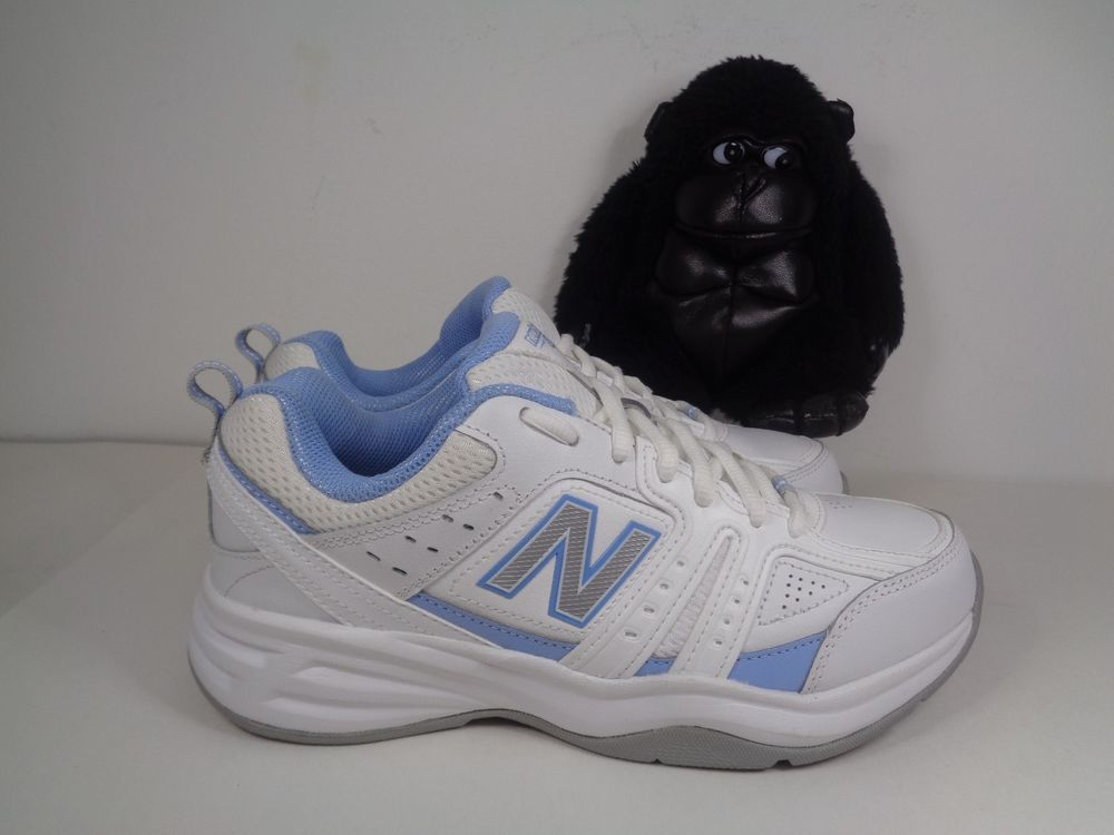 Details about New Balance 577 Black Leather Walking Buts Sneakers Kobiet's Size 9 B