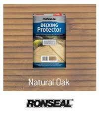 Ronseal Natural Oak Decking Protector Garden Makeover Deck Back Gardens