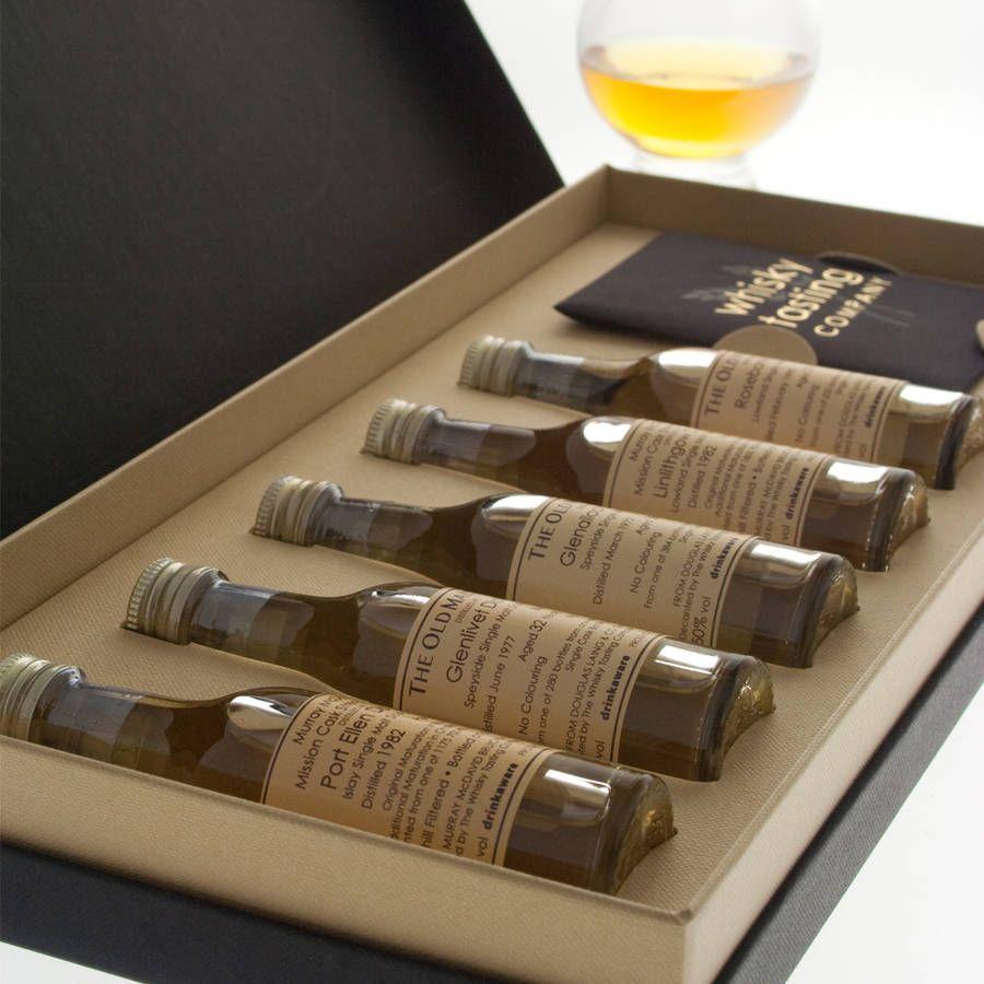 personalised whisky gift set
