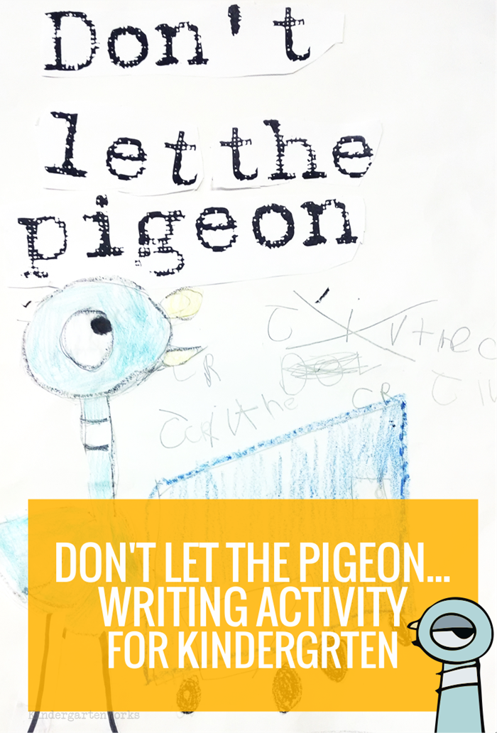 Premise Indicator Words: Don't Let The Pigeon… Extension Writing Activity