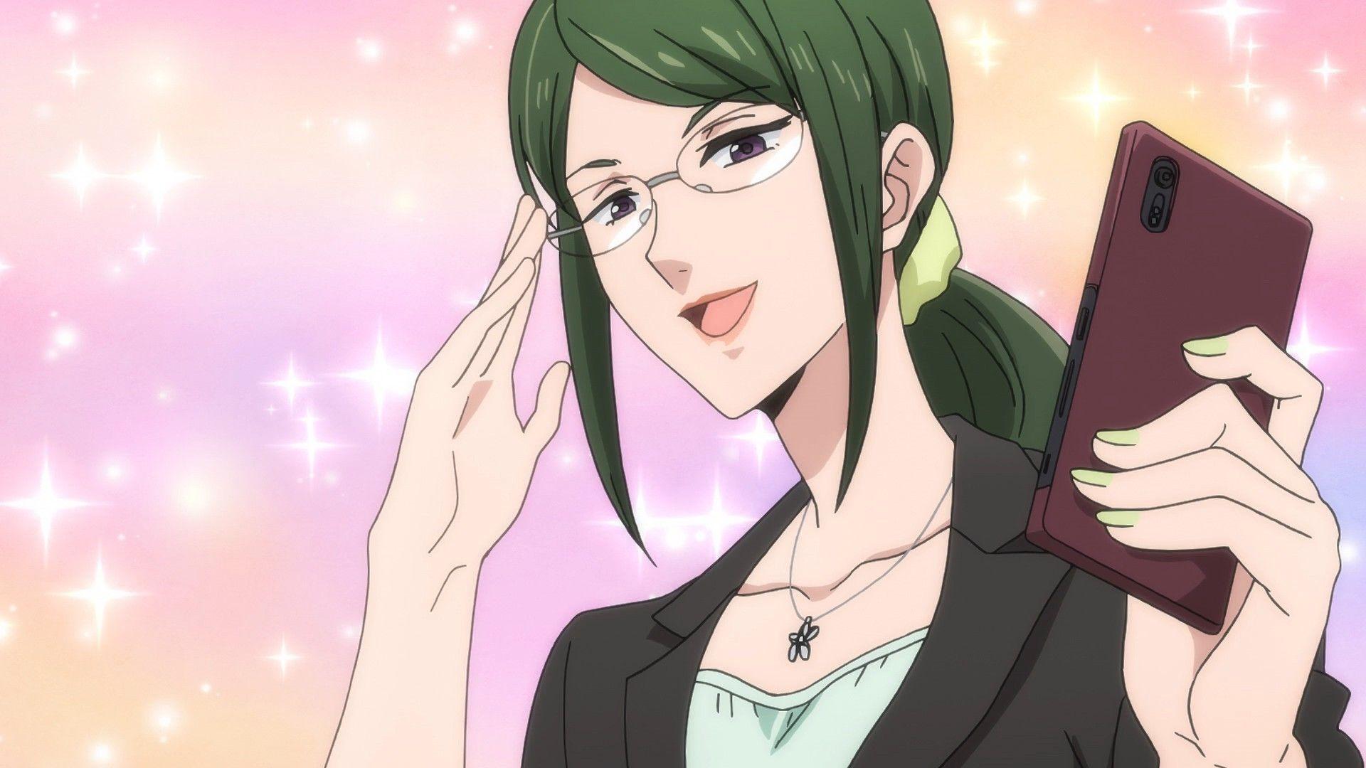 Koyanagi Hanako Wotaku Ni Koi Wa Muzukashii Anime Group Anime
