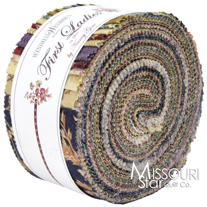 First Ladies Jelly Roll from Missouri Star Quilt Co | Quilting ... : first ladies quilt - Adamdwight.com
