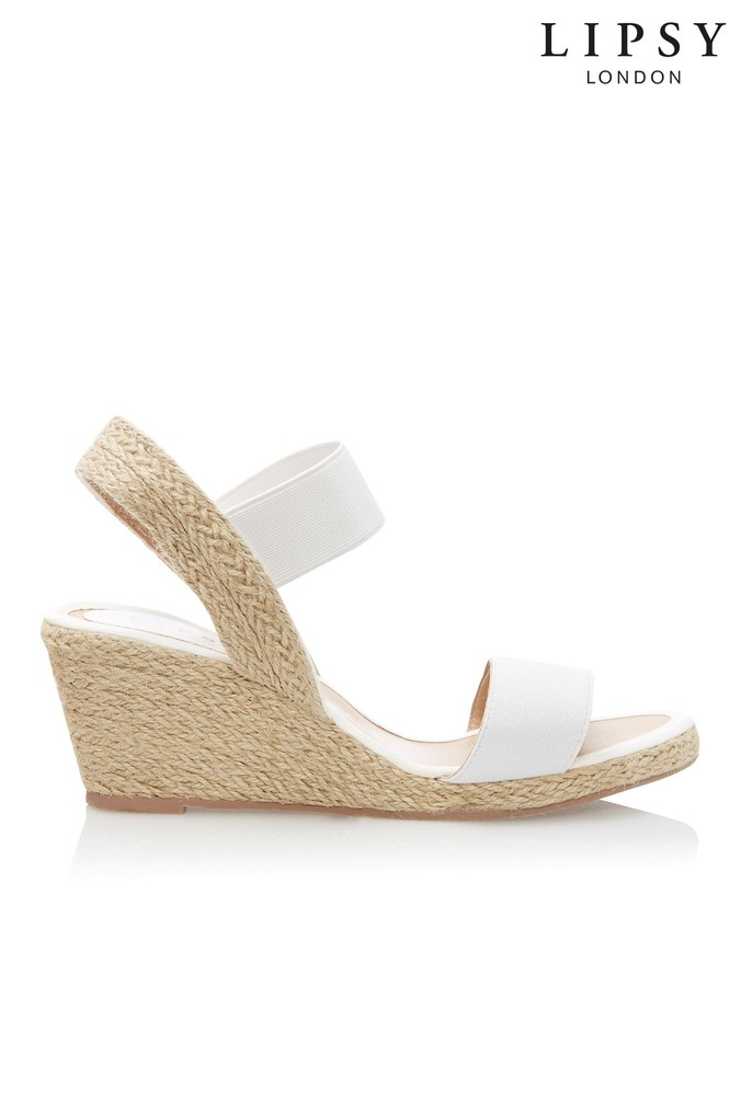 Womens Lipsy Low Espadrille Wedges