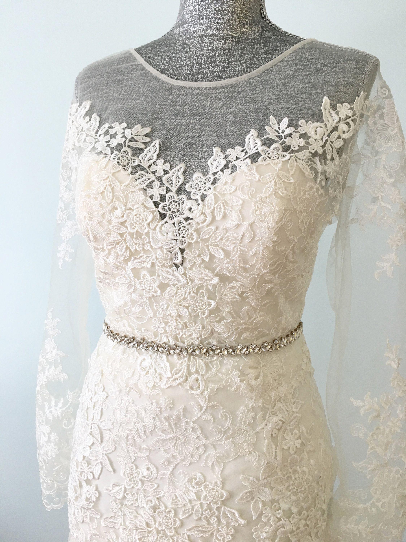 Open back wedding dresses lace  Reception Wedding Dress Lace Dress Lace Wedding Dresses Venice