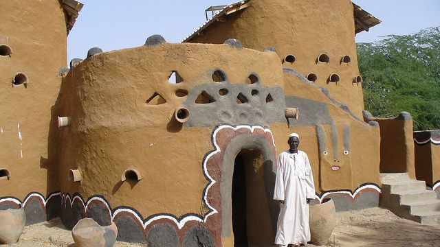 african architecture and design: gaoui village african traditional