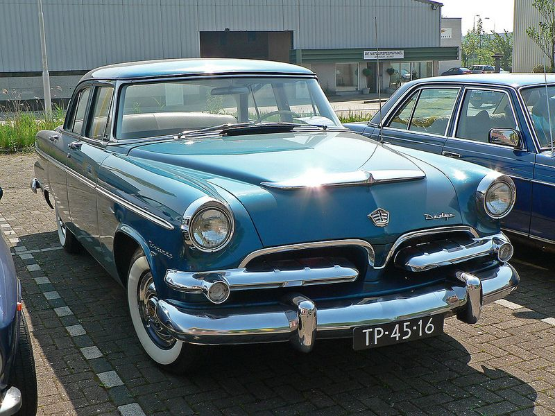 Dodge Kingsway Deluxe 1956 With Images Dodge Classic Cars Cars