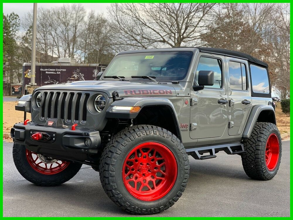 2020 Jeep Wrangler Rubicon 22 Custom American Forces Fully Loaded 2020 Rubicon Warn Winch Steel Jeep Wrangler Rubicon Wrangler Rubicon Jeep Wrangler For Sale