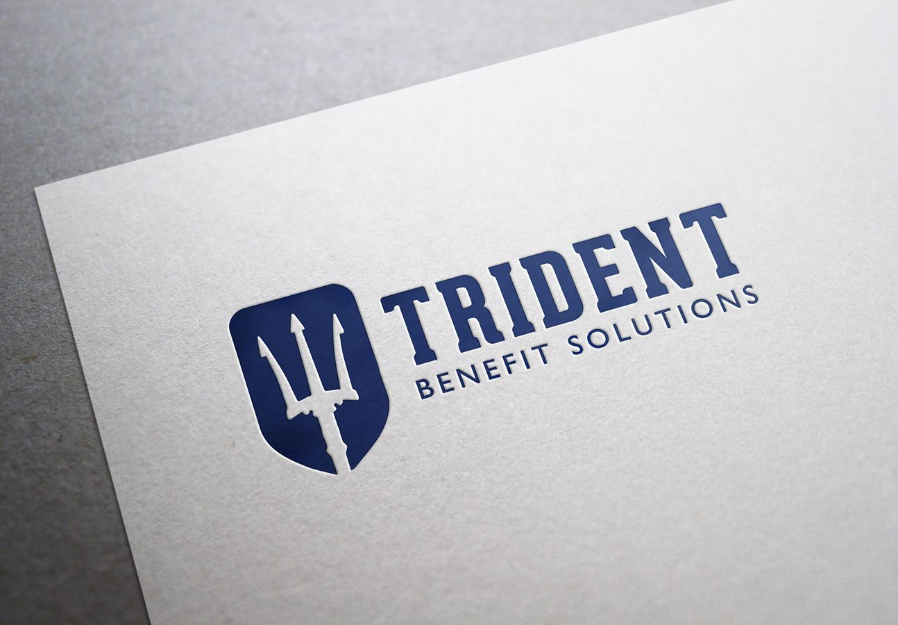Trident Benefit Solutions Is An Innovative Consulting And Insurance Brokerage Firm Specializing In Employee Benef Stationery Branding Logo Branding Logo Design
