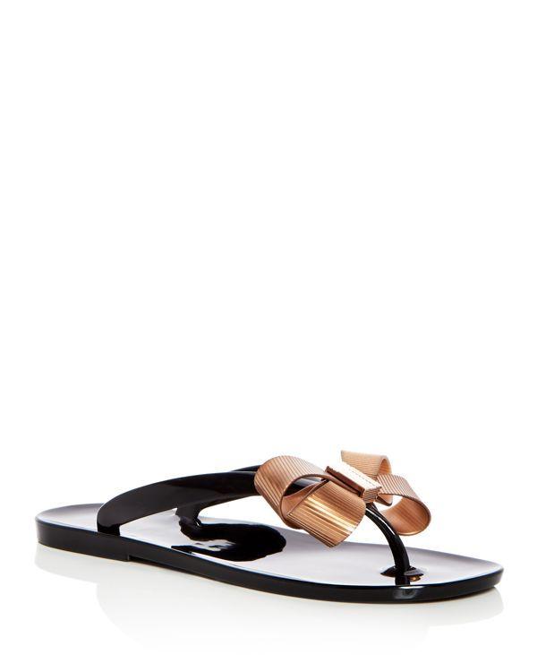 d6ed8a702d5e10 Ted Baker Women s Suszie Bow Flip-Flops