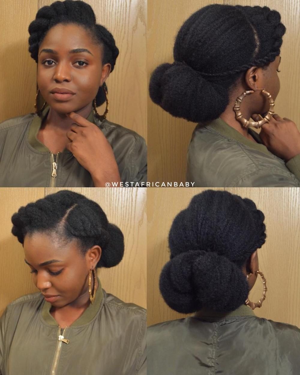60 Easy And Showy Protective Hairstyles For Natural Hair Protective Hairstyles For Natural Hair Natural Hair Styles Natural Hair Styles Easy