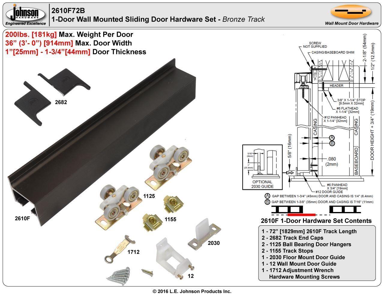 Door Guides Track Sliding Doors | http://togethersandia.com ...