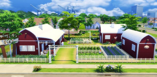 Sims 4 Houses And Lots Animal Farmhouse G A M E S