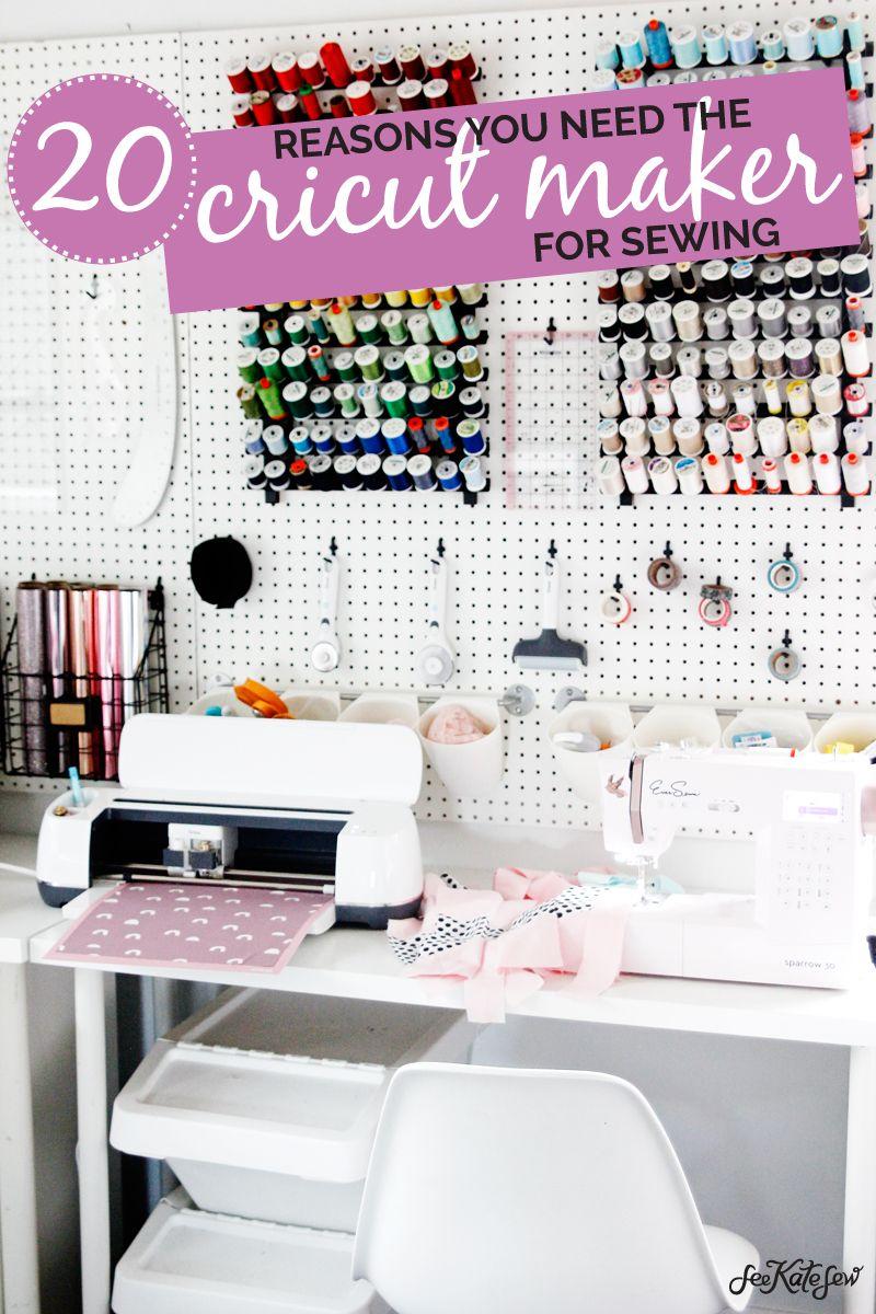 Cricut Sewing 20 Reasons you need the Cricut Maker
