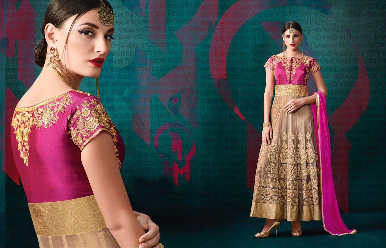 http://www.thatsend.com/shopping/lp/fvp/TESG221000/i/TE285526/iu/beige-banglori-silk-designer-salwar-kameez  Beige Banglori Silk Designer Salwar Kameez Apparel Pattern Embroidered. Stiching Type Semi Stitched. Work Embroidery. Bottom Color Pink. Bottom Length 2.5 Meter.