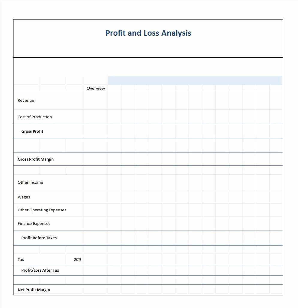 Profit Loss Statement Example Inspirational 35 Profit And Loss Statement Templates Forms Profit And Loss Statement Statement Template One Page Business Plan