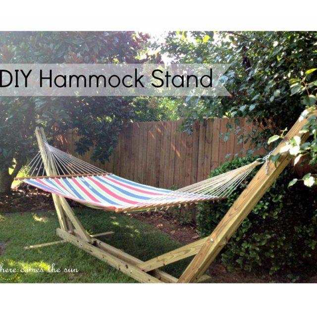 10 id es de hamacs fabriquer soi m me products i love. Black Bedroom Furniture Sets. Home Design Ideas