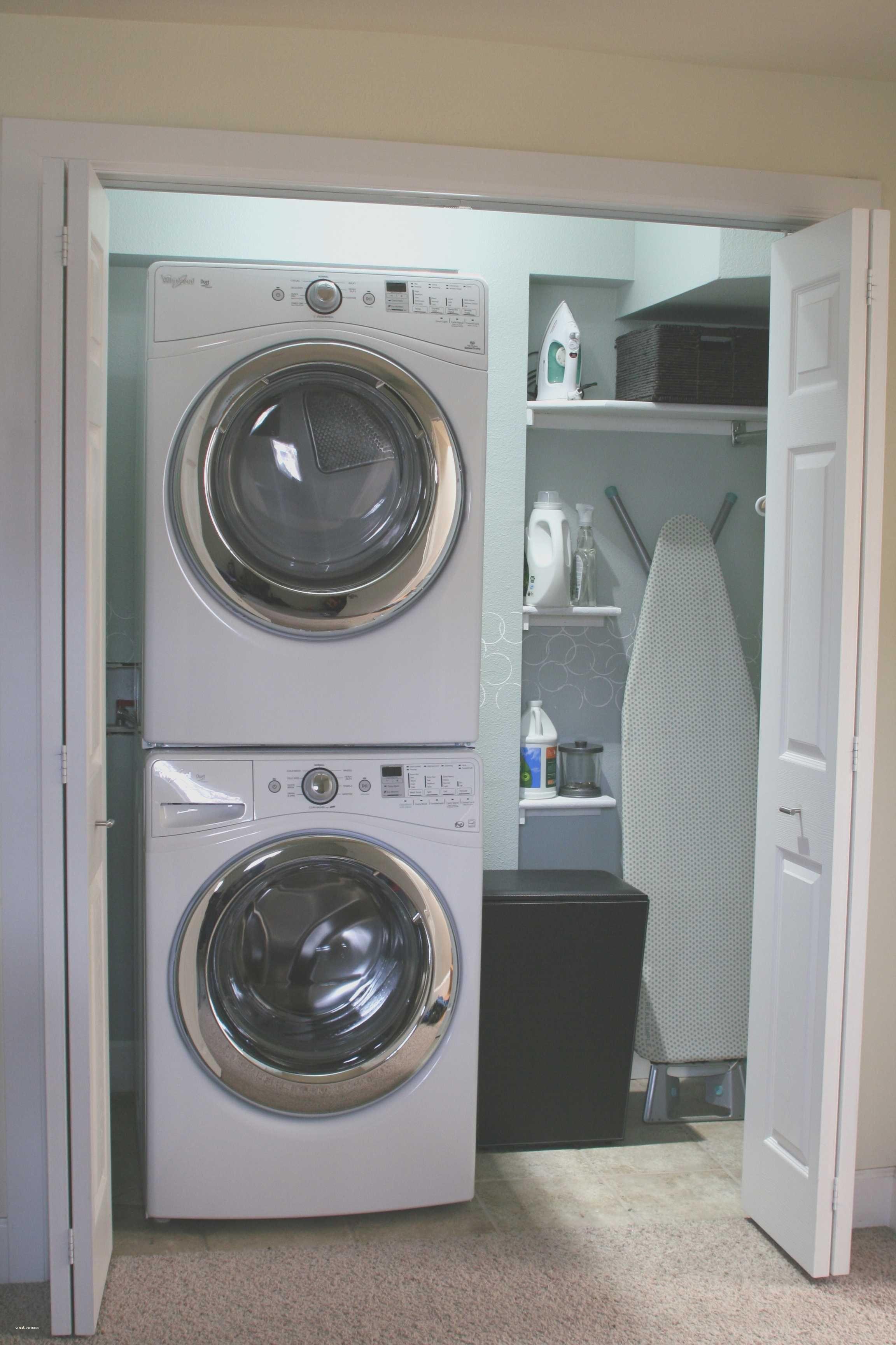 Laundry Room Ideas Small Stackable Closet Luxury Laundry Room Ideas Small Stackable Closet La Renovation De Buanderie Buanderie Placard Pour Linge De Maison