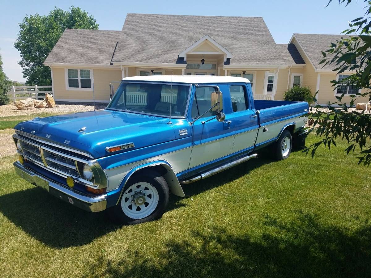 1971 ford f 350 crew cab special this truck is a driver with a