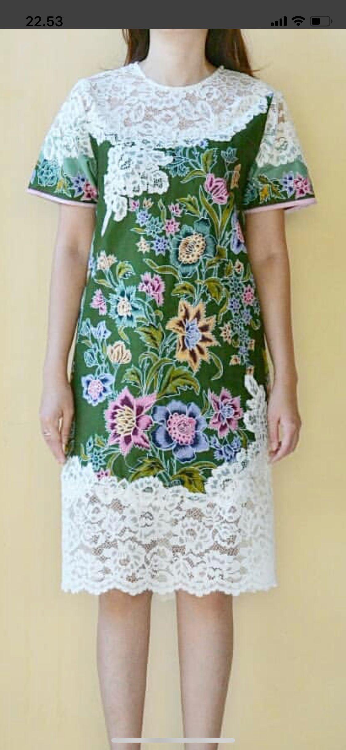 Batik N Brokat Women S Fashion Gaun Pakaian Wanita Dan Desain