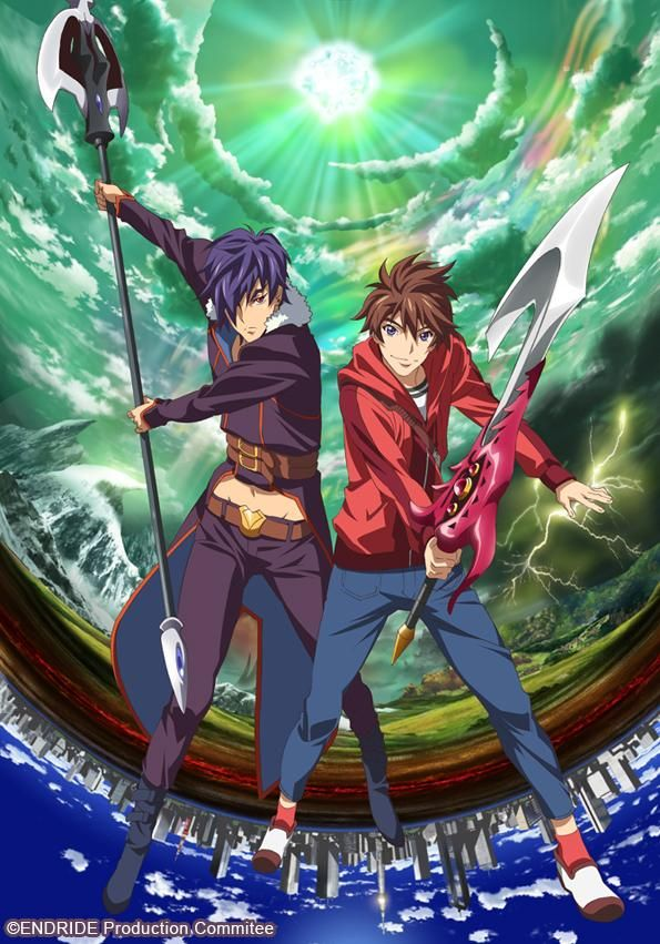 Endride à regarder sur Anime Digital Network Animé, Anime