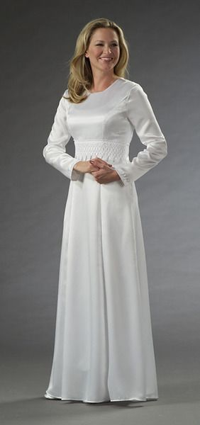 Latter Day Boutique Lds Temple Dresses In Petite Regular Tall