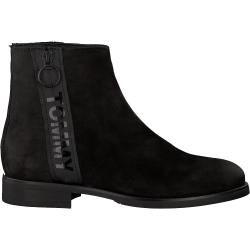 Tommy Hilfiger Chelsea Boots Tommy Jeans Zip Flat Schwarz Tommy Hilfiger