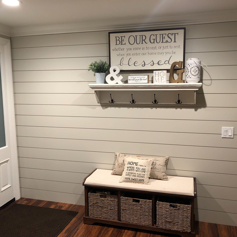 Be our Guest Sign | Farmhouse Decor | Wall Decor | Be our Guest | Wall Hanging | Wall Art | Wood Signs | Home Decor | Guest Bedroom Decor