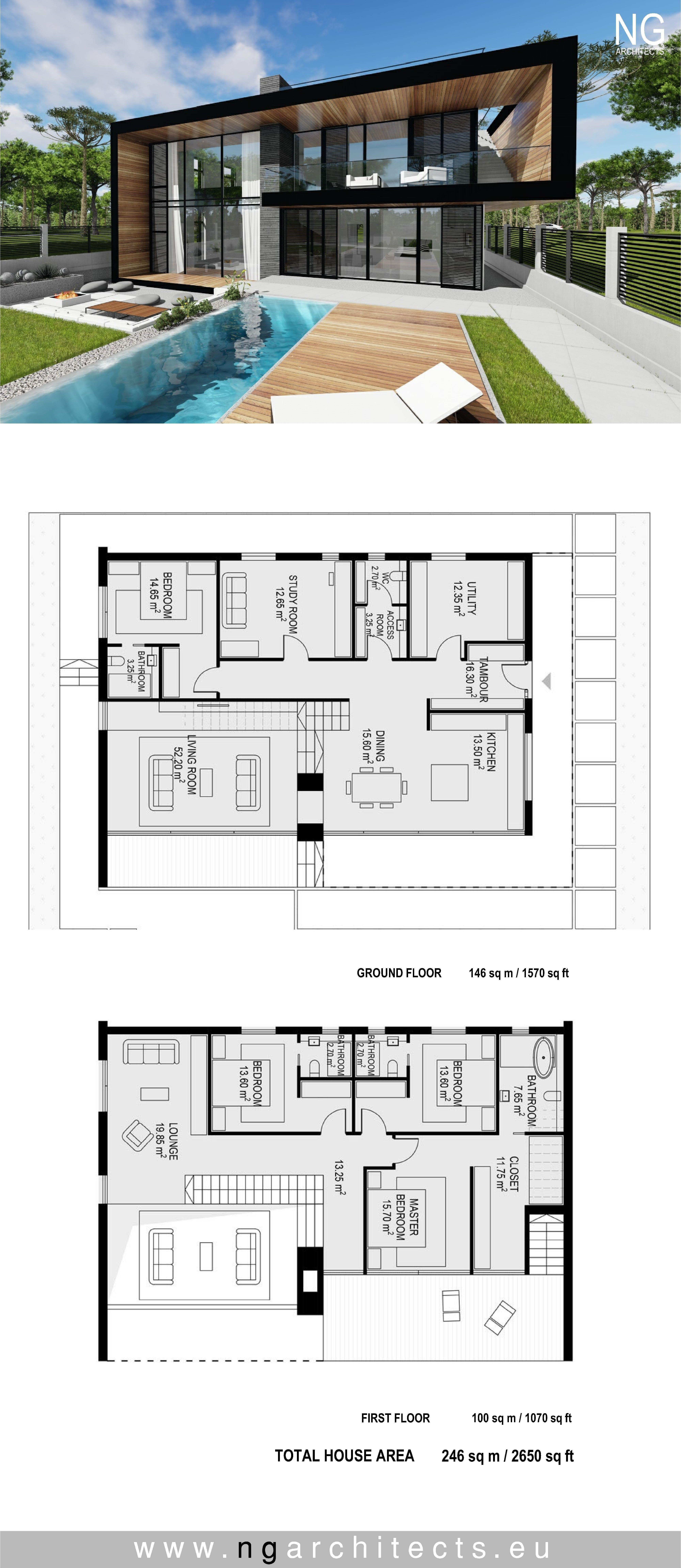 Modern Architecture House Plans 2021 Denah Desain Rumah Desain Rumah Modern Desain Rumah
