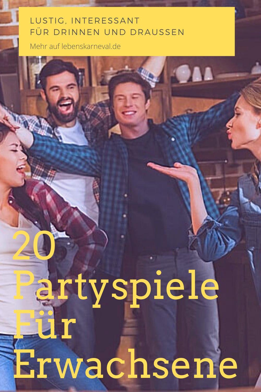 Partyspiele fur erwachsene kennenlernen